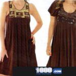 2 Patrones de Vestidos con y…