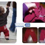 👖Patrón de Pantalón para Bebés Fácil…