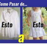 Convierte una Camisa en un Vestido…